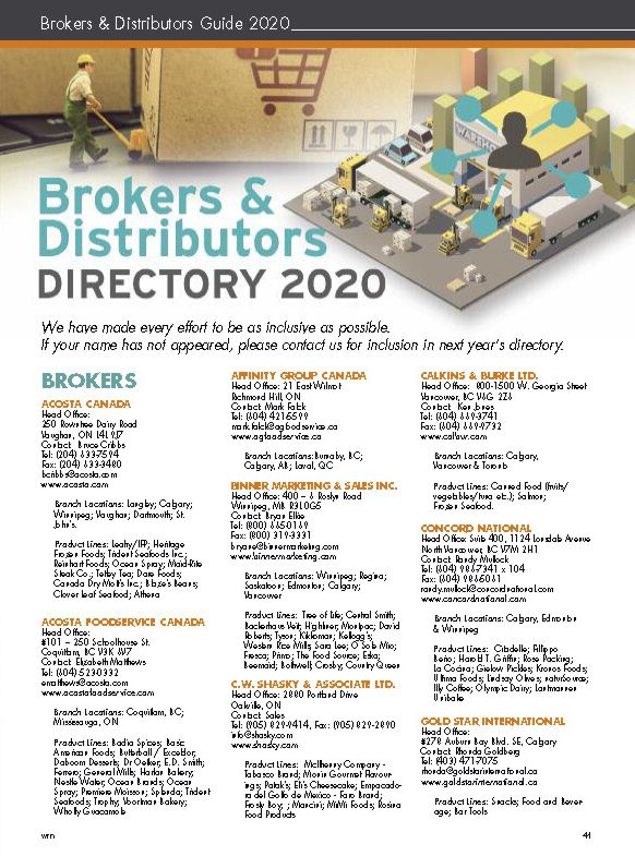 WRN 2020 Brokers and Distributors Guide cover 582w